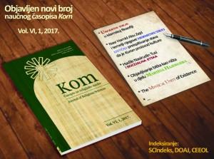 Kom, VI, 1, 2017. Plakat